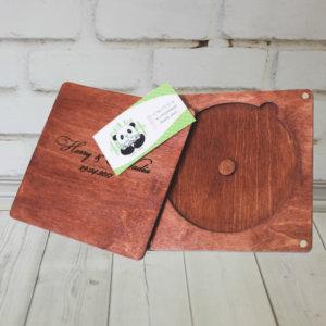 Шкатулка для диска с гравировкой