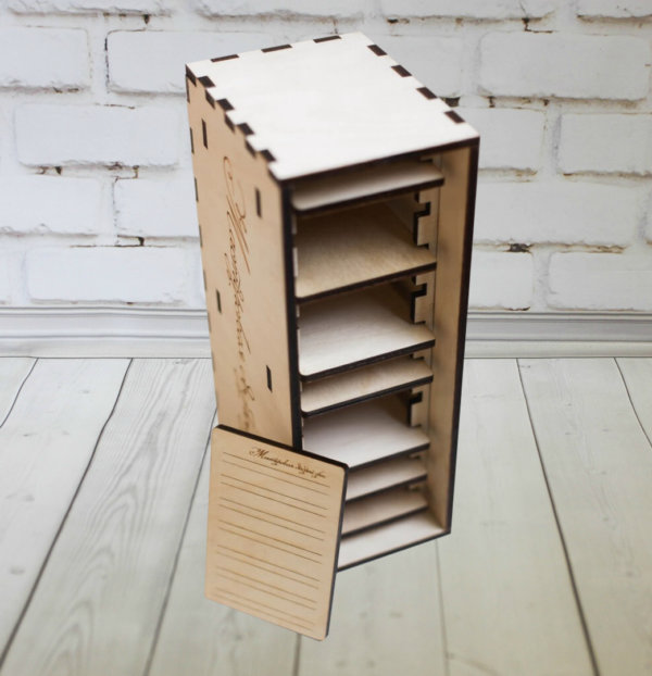 Коробка для ресниц из дерева,lashbox, лэшбокс