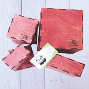 Коробки из дерева для хранения