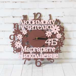 Часы настенные деревянные