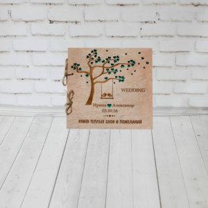 Фотоальбом из дерева на заказ
