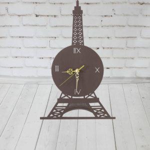 Настенные деревянные часы — Париж