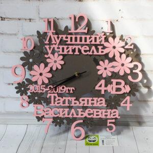 Часы сословами