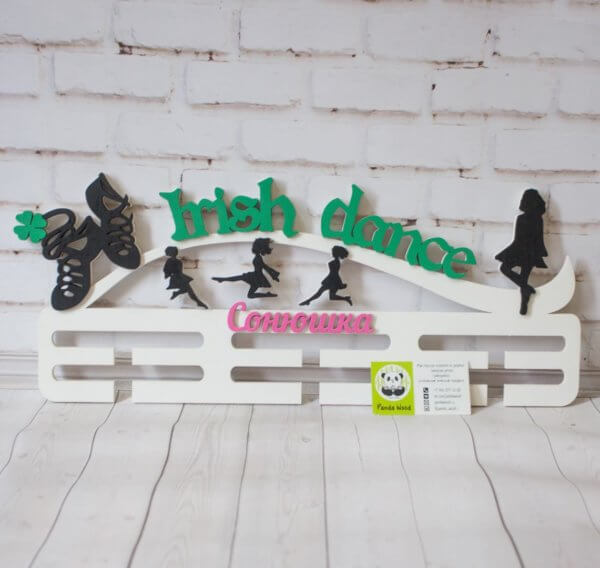 Вешалка для медалей ирландские танцы