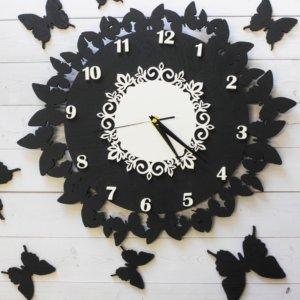 Часы настенные — Бабочки