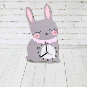 Настенные часы для детской — Зайчик
