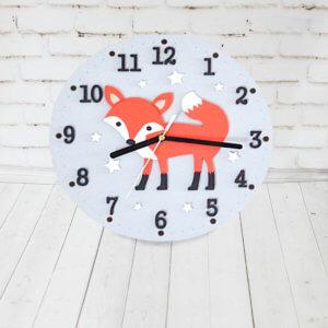 Настенные часы в детскую комнату