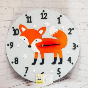 Настенные часы — Лиса